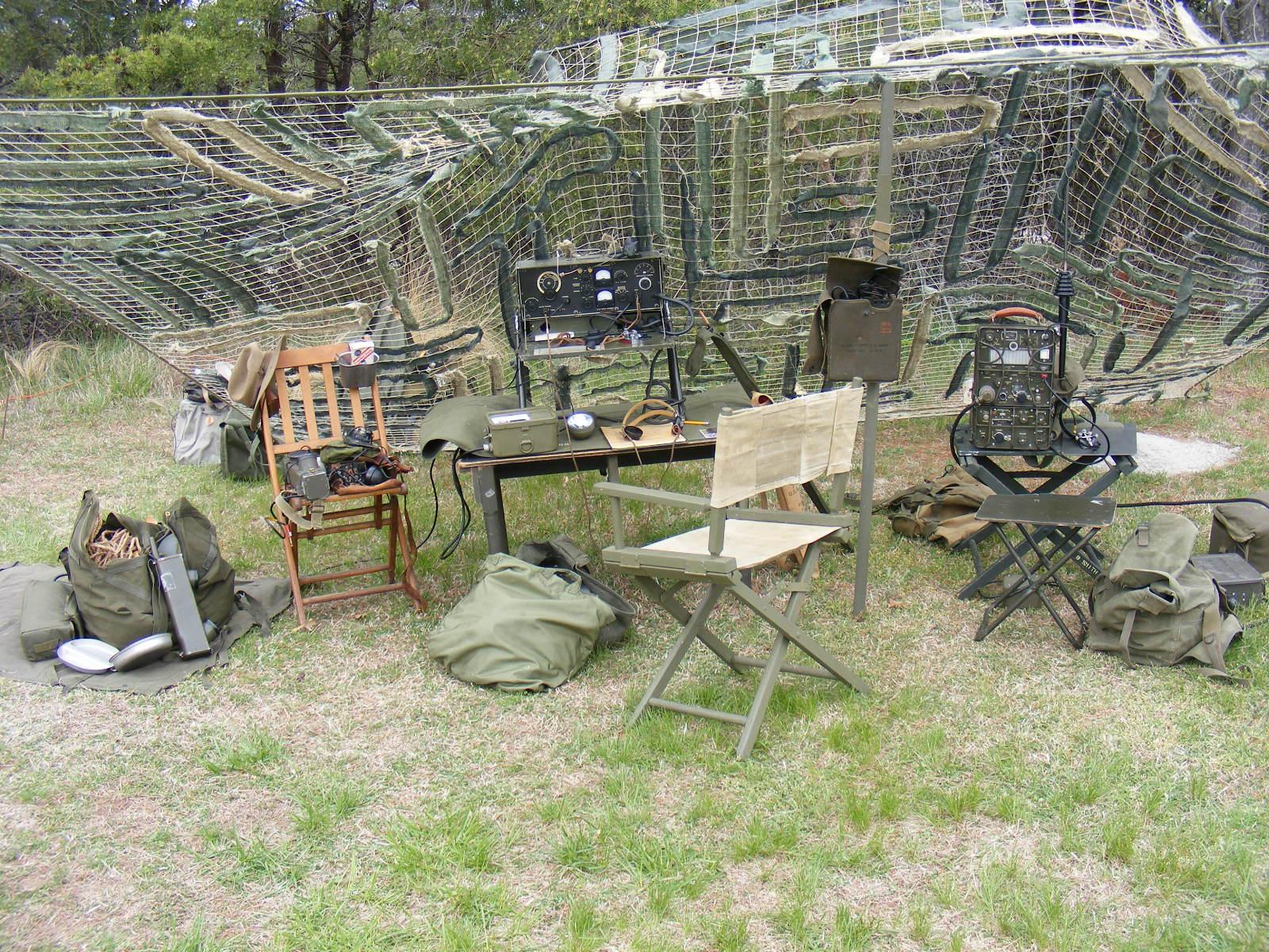 British Living Room Camouflage Net Fabrication